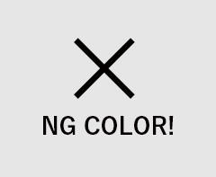 NG COLOR!