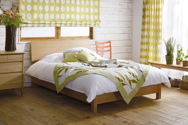 個性的なベッドルーム