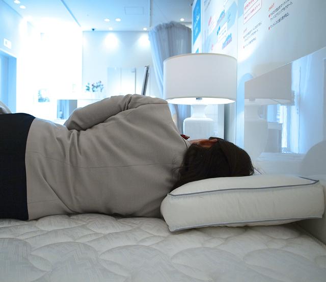 理想的な枕の高さ